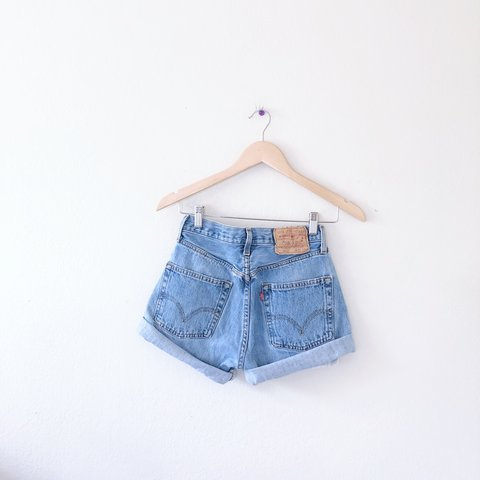 6730bf66 @denimfordayss. 12 days ago. San Francisco, United States. Vintage 501  Button Fly Levi High Waisted Shorts. These ...