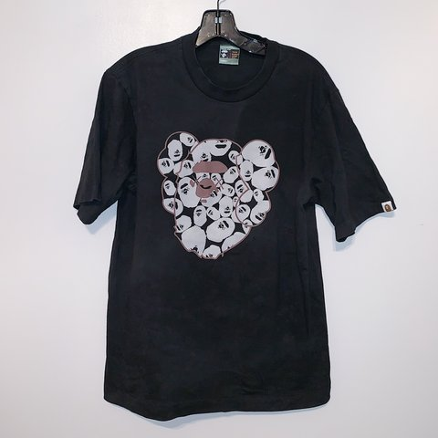 d04008846bb0 Vintage Bape x Kaws ape head tee. Good condition. Tagged sz - Depop