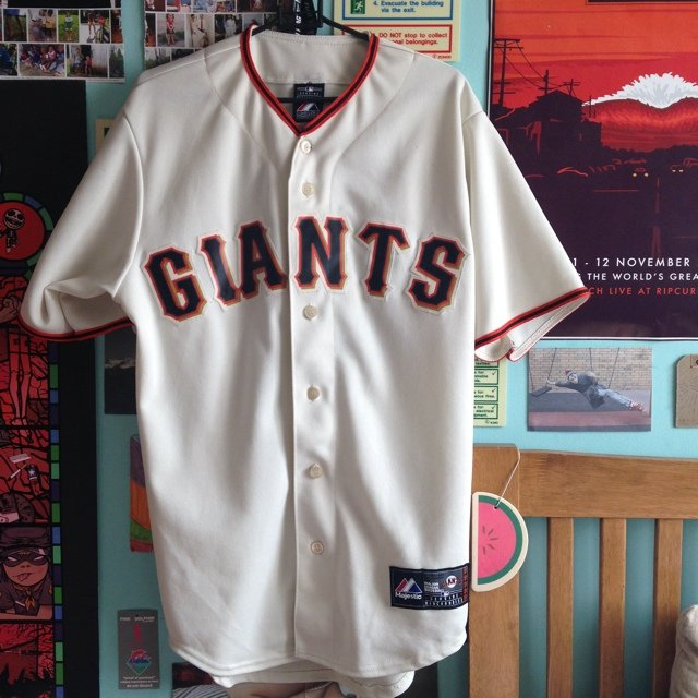 New York Giants Baseball Jersey Size Small But As Of It Depop