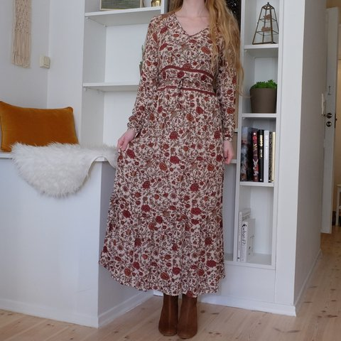 41a257b80619 Cute floral bohemian dress from Indiska. Size XS