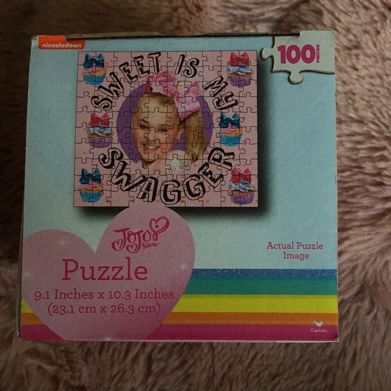 Jojo Siwa 100 piece puzzle  Never used  Can be an    - Depop