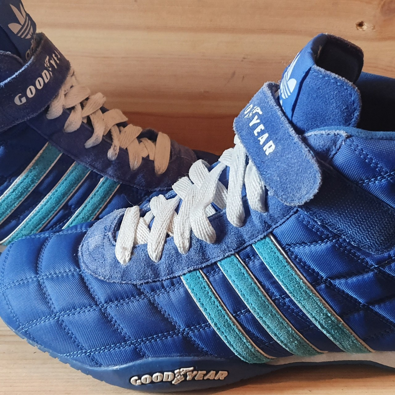 meilleure sélection 38795 b854f ADIDAS GOODYEAR MONACO TRAINERS SIZE 9.5UK very ...