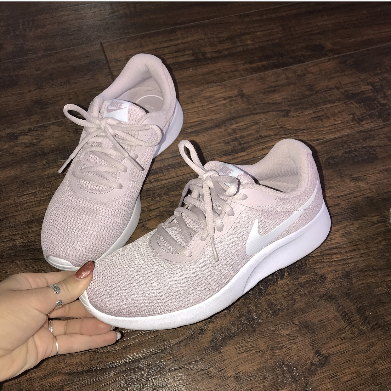 HOLD Nike running workout shoes, light