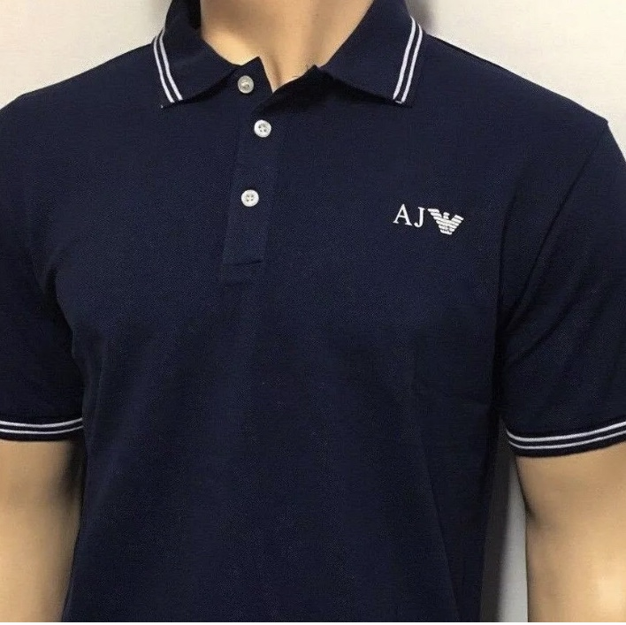6cc694fb Emporio Armani polo shirt - Original tag and... - Depop