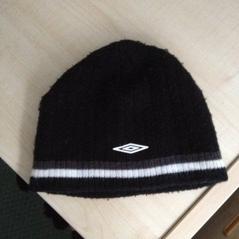 36cf181d8c5ae Umbro beanie. nice condition and Very comfortable and warm. - Depop