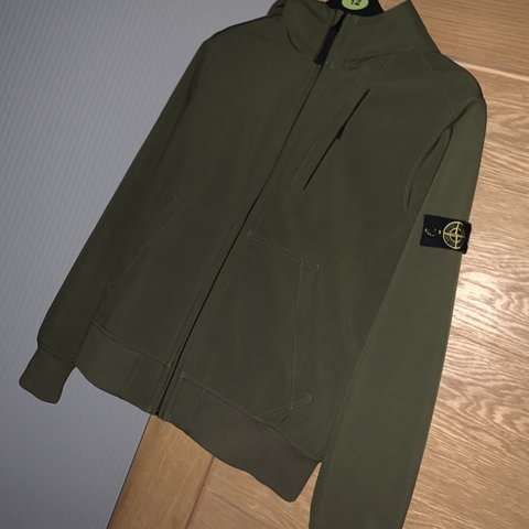 a12955258a @harryseymourx15. 3 months ago. Oldham, United Kingdom. Stone Island Junior  Soft Shell Jacket Khaki ...