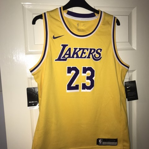 c345d4a55 @jamescockerill. 29 days ago. Oakham, United Kingdom. Nike Los Angeles  Lakers jersey - LeBron James 23. SIZE YOUTH LARGE