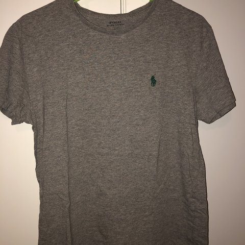 080426ac4eae @highlifechad. 5 months ago. Roswell, United States. Gray Ralph Lauren Polo  t shirt. Size S. Great condition.