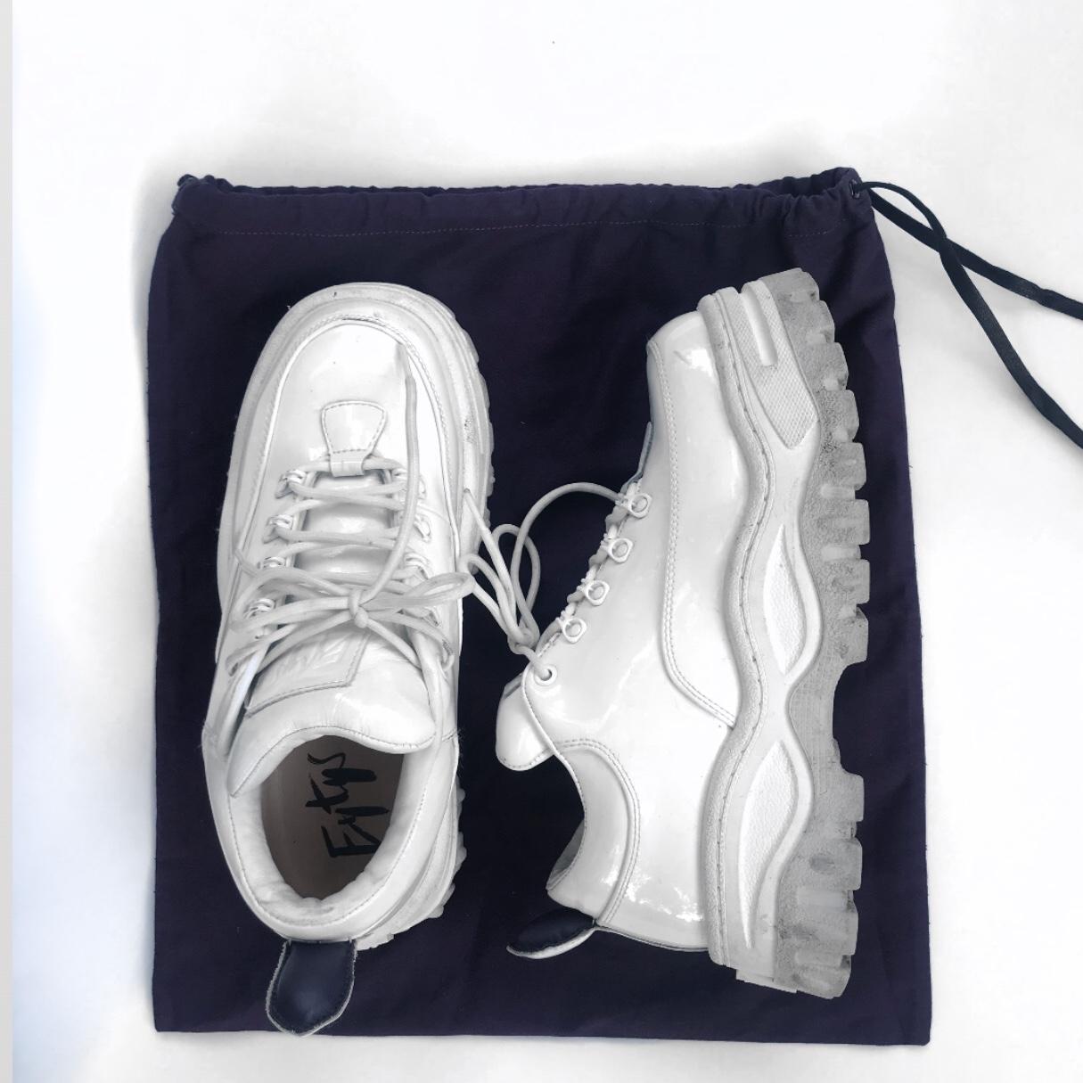 Eytys Angel White Patent Leather