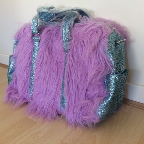 0a19459da6 Sugar thrillz at Dolls Kill Shagadelic Weekender Bag. Lilac - Depop