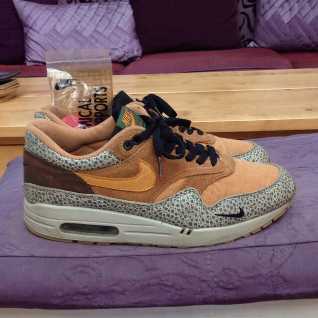 Nike Air Max 1 x Atmos Safari 2003 Size : UK 9 US Depop