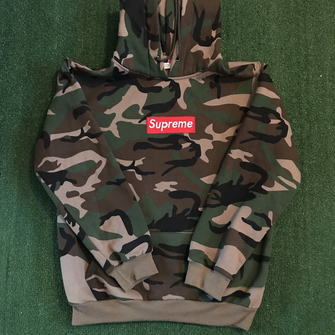 8e54519332c3 Bootleg camo supreme box logo hoodie in good used condition depop jpg  1280x1280 Hoodie box hood