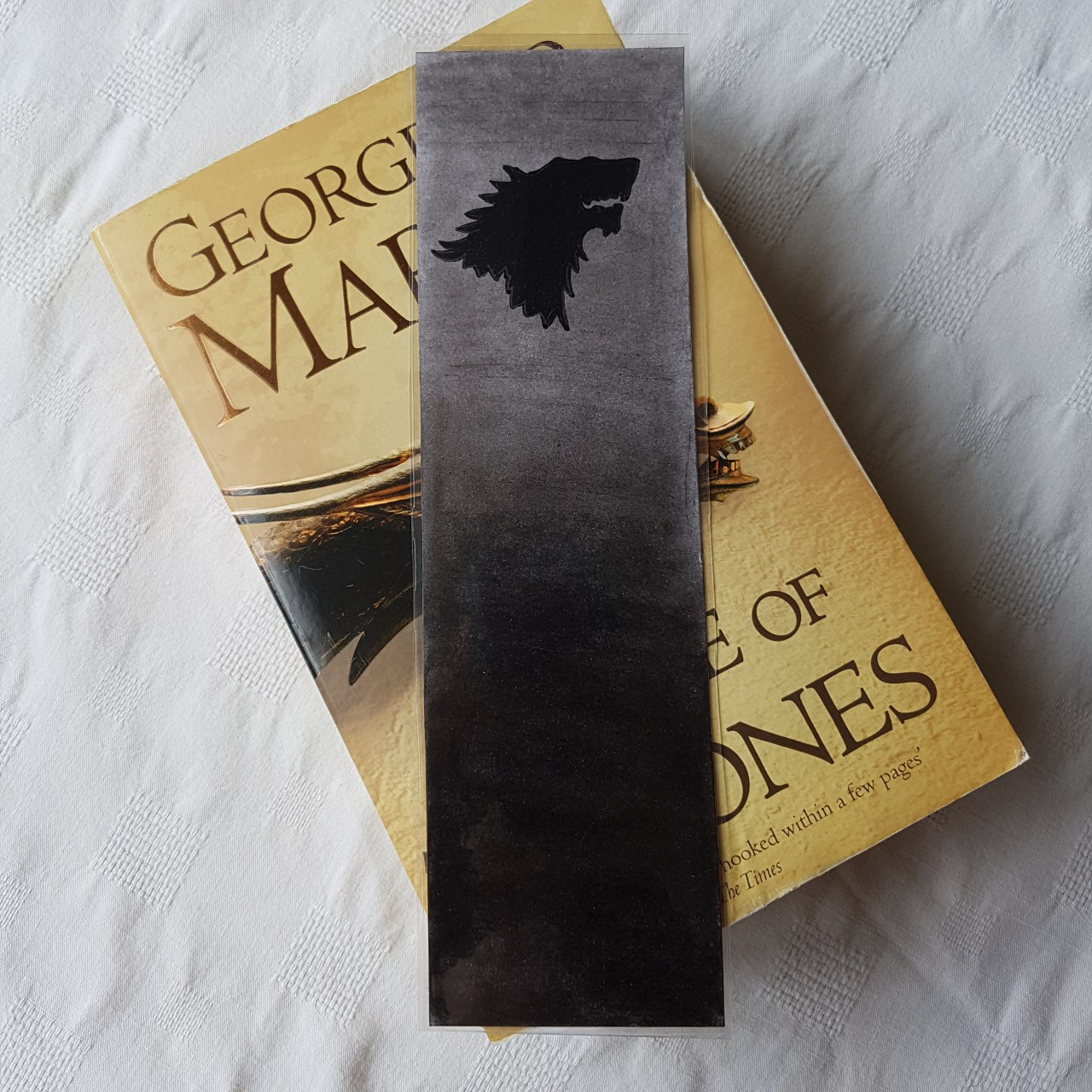 Game Of Thrones House Stark Bookmark All My Depop