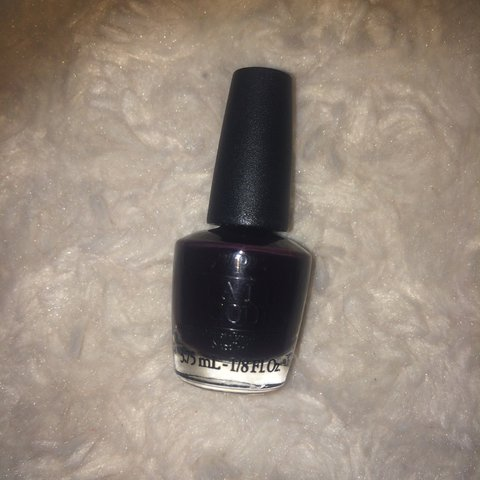 OPI Lincoln Park After Dark Nail Lacquer. Used once. - Depop