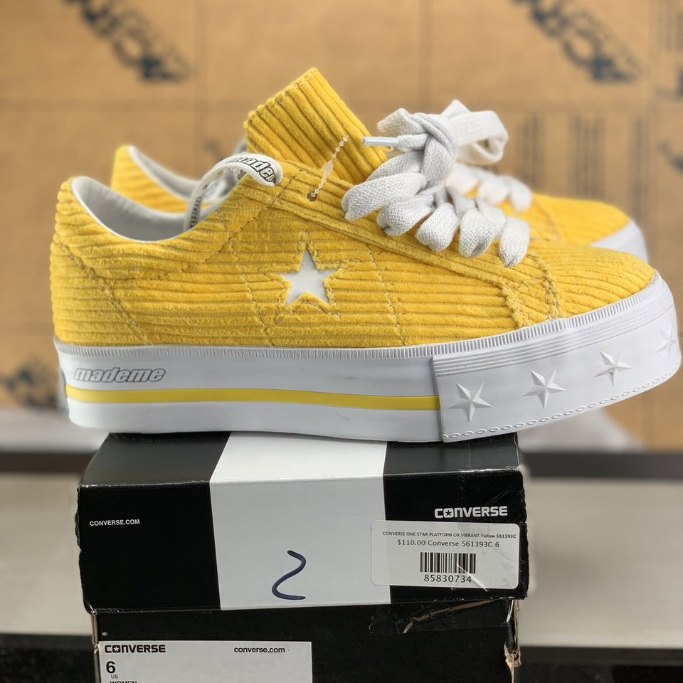 Up for sale is a brand new pair of Converse One Star Depop