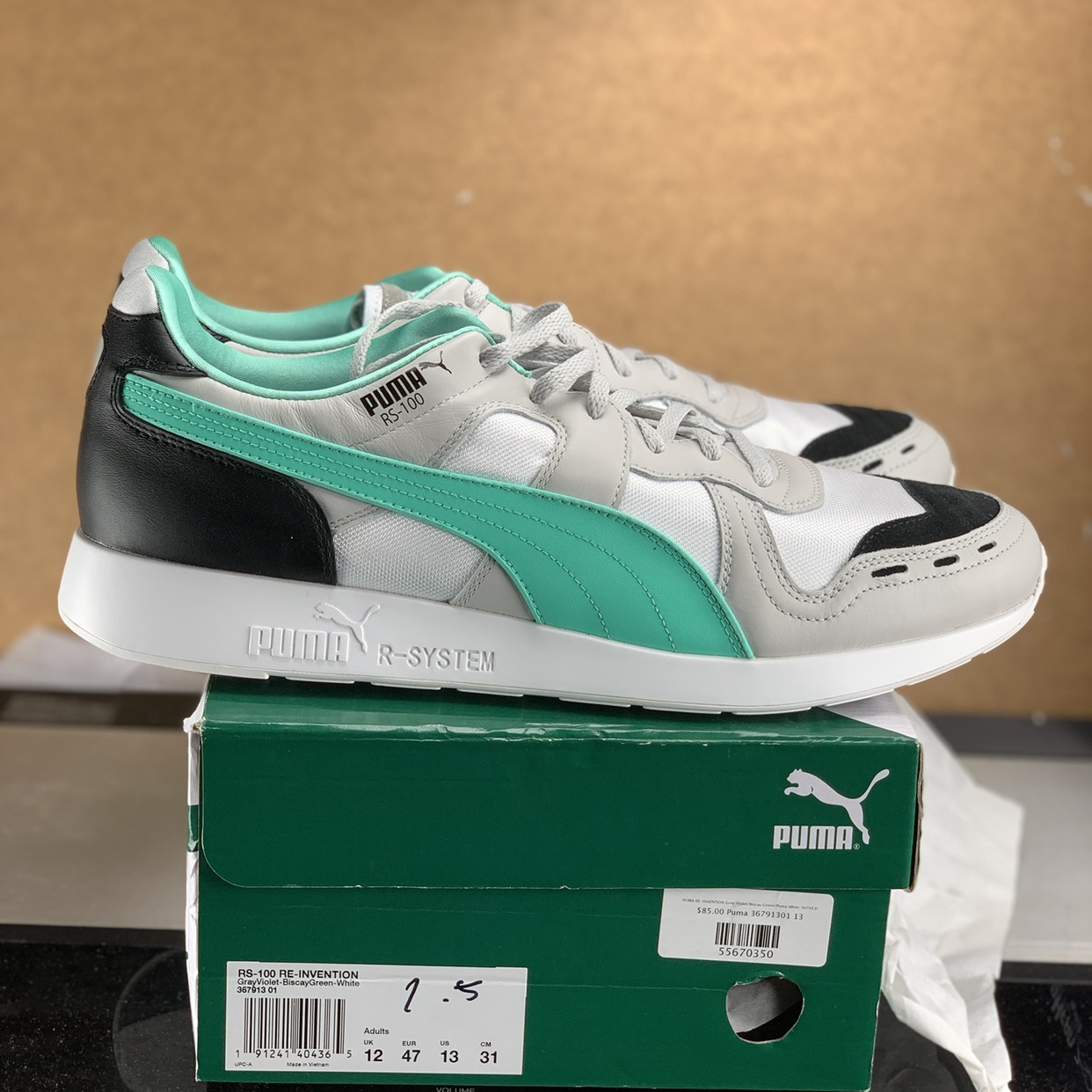 For sale is a BRAND NEW pair of Puma RS 100 Depop