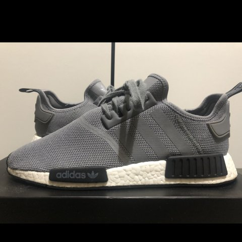 3c921c989 Adidas NMDs grey colorway I m really good condition how long - Depop