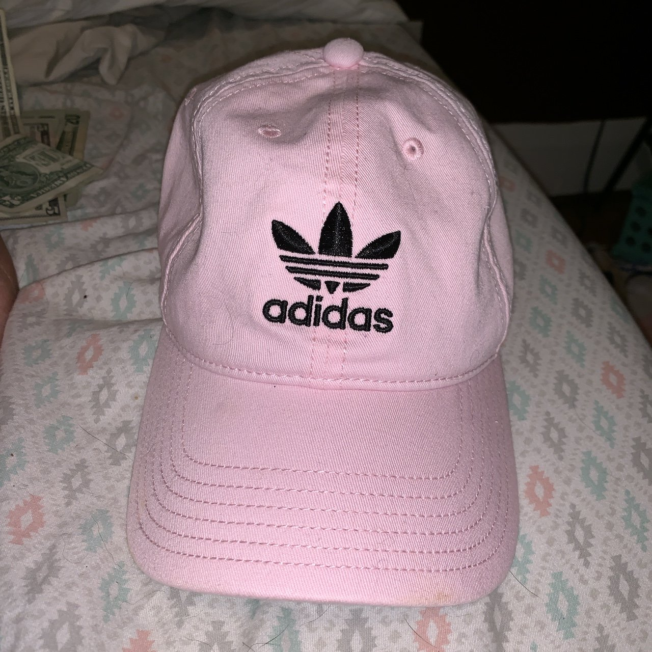 """Pink ADIDAS women s adjustable fit """"dad hat"""" style fit e5e0231d6"""