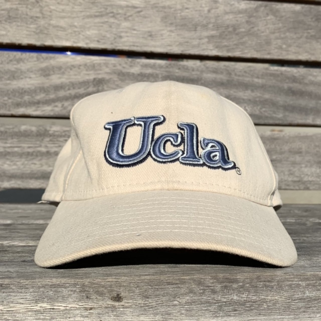 74d3dfd19cc Vintage new era UCLA hat very old piece. Stain inside the - Depop