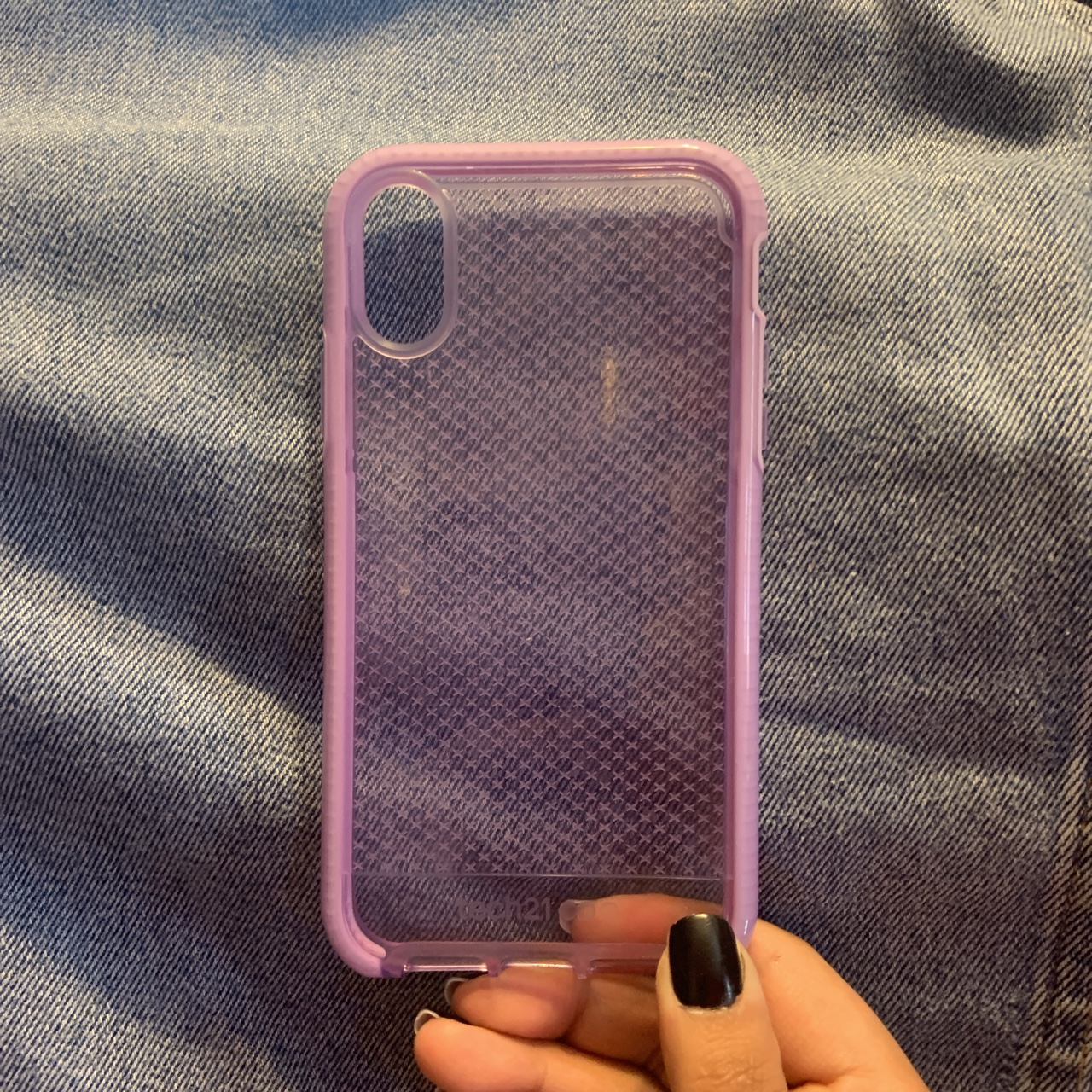 the best attitude 53935 3caf3 Lavender Tech21 Iphone XR case (available on amazon... - Depop