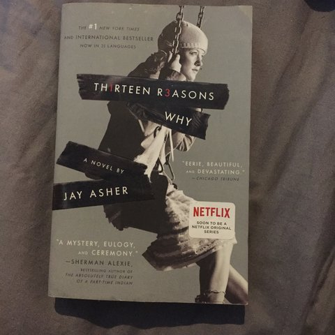 13 Reasons Why Book By Jay Asher In Good Condition Ive It Depop