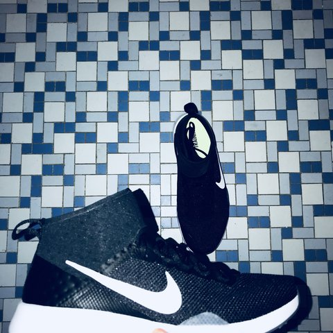a76476919773 Womens Nike Air Zoom Strong 2 Size  7 Color  Black white new - Depop