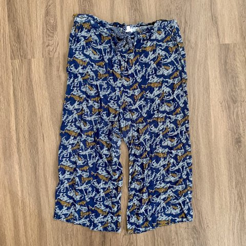 f3d30f27b2dc @cnembry. 3 months ago. Austin, United States. Cropped Palazzo Pants with Animal  Print.