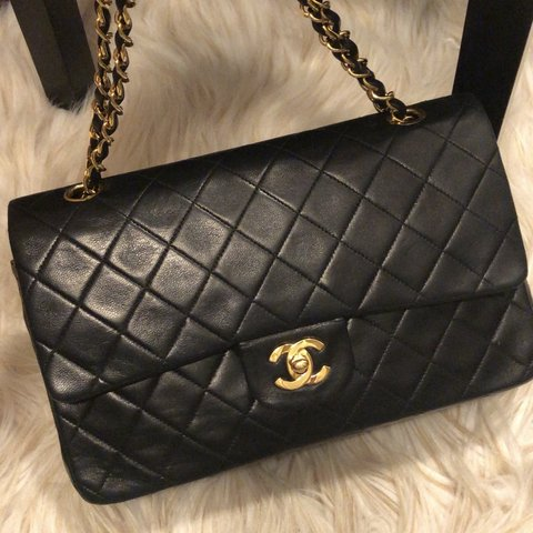 581c35330853 @illlisted. 6 months ago. Auburn, United States. Iconic Authentic Chanel  Classic double flap bag with 24k gold plated hardware.