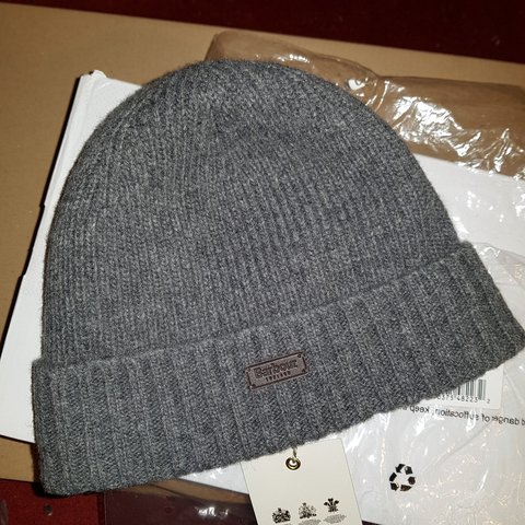 e58fa426e4cec SOLD!😫 Barbour Carlton Beanie is knitted with a - Depop