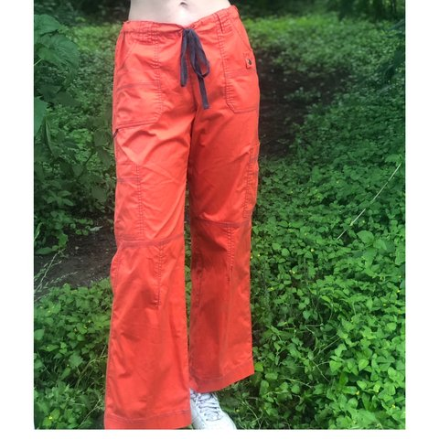 65f3298be38 @sagestokke. 10 days ago. Austin, United States. BRIGHT ORANGE DICKIE CARGO  PANT