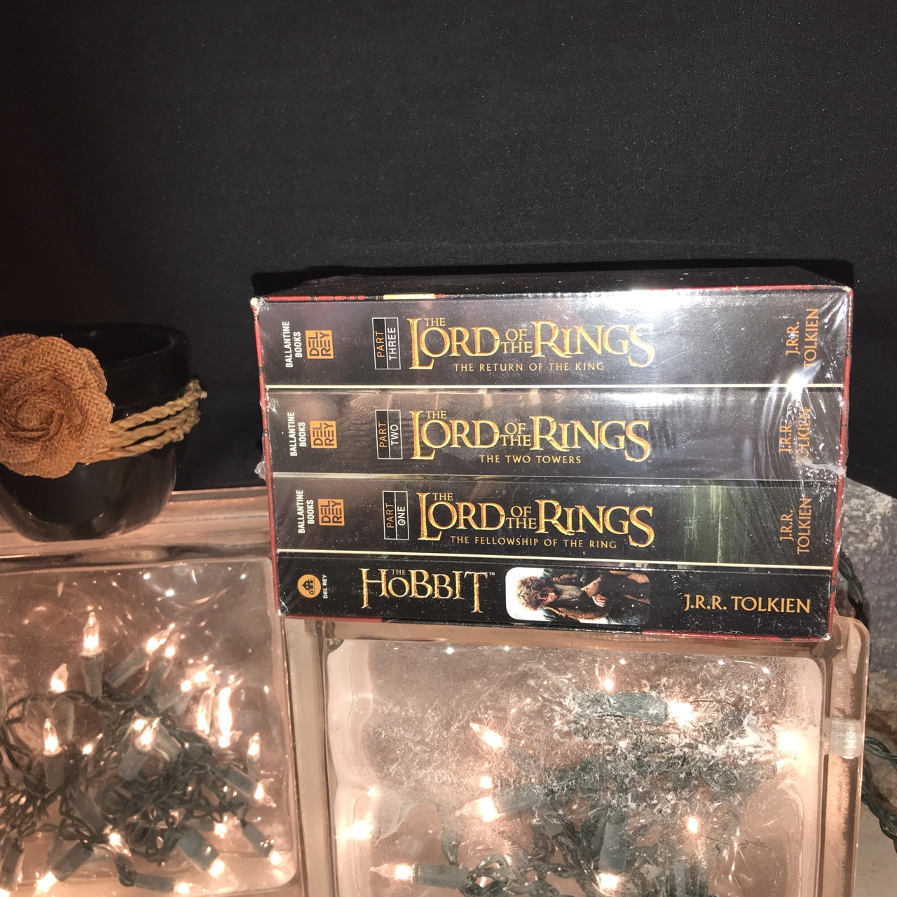 Lord Of The Rings Christmas Ornaments.The Complete Set Of Lord Of The Rings Paperback Depop