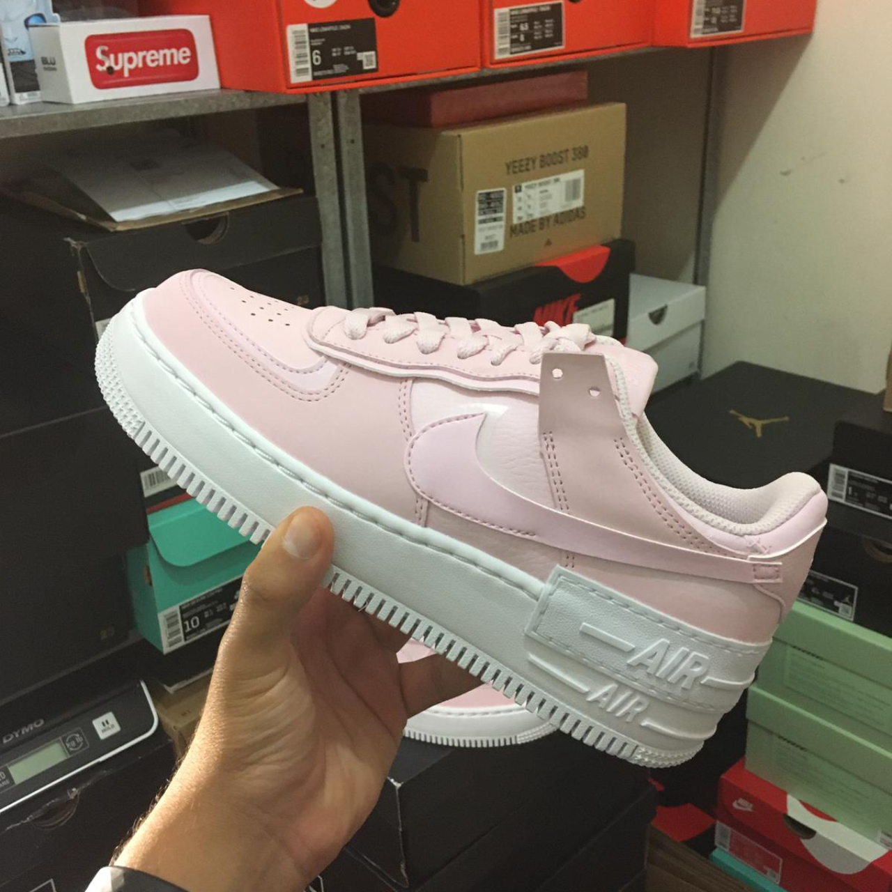 Nike Air Force 1 Shadow Pink Foam In Sizes 4uk 5uk Depop