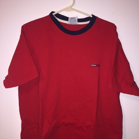b3b6d17f @slater__. 2 days ago. Hickory, United States. Tommy Hilfiger jeans red  shirt ...