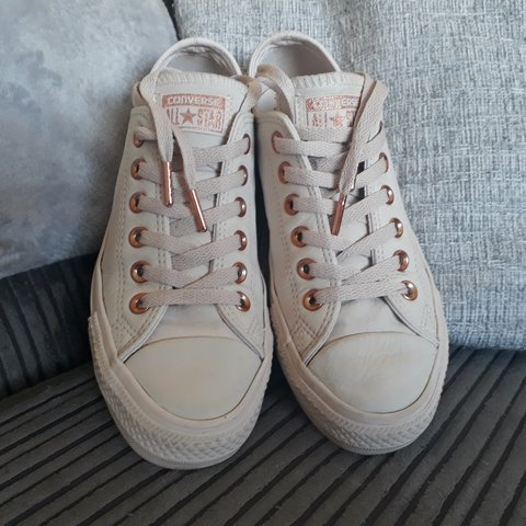 8e465ae046b0 Genuine converse all star women s pumps. UK size 5. Great a - Depop