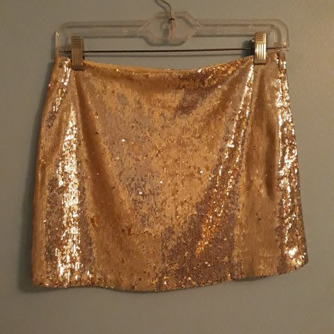 1c52ebd64e29 @jezikapop. last month. Huntington Beach, Orange County, United States.  Silver Sequin Mini Skirt Sans Souci size small ...