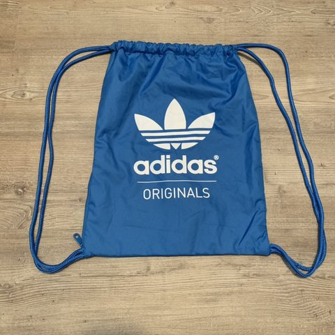 aef08a3510f ✨unused✨ 🧢💙🥶 adidas originals drawstring backpack with in - Depop