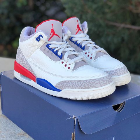 "978f53287c75 Retro Air Jordan 3 ""International Flight"" Size 10 Like OG   - Depop"