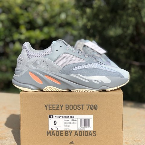 """91a2536f8 Adidas Yeezy Boost 700 """"Inertia"""" Size 9   12 New 2019 out   - Depop"""