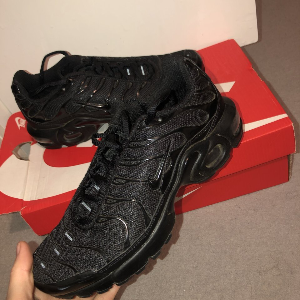 Black Nike TNs. Size 5 brought from