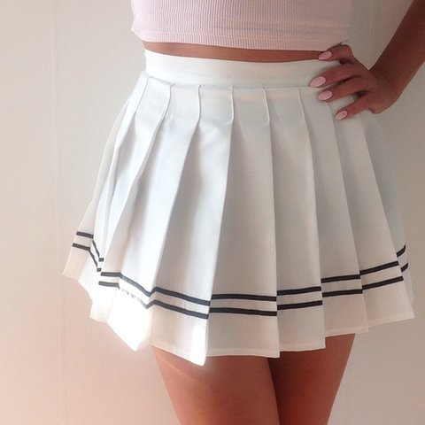 ebc6211814 Cute pleated tennis skirt. All new. Ordered from China but I - Depop