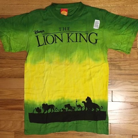 9fb141db @brokersupply. 5 months ago. State College, United States. VINTAGE DISNEY  LION KING T SHIRT from the ...