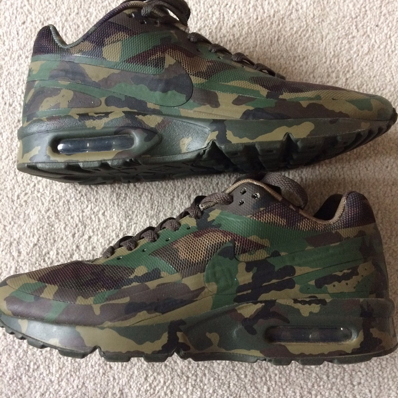 best loved 67755 6ac6a  gwellss. 5 months ago. Virginia Water, United Kingdom. Rare Nike air max 90  French Camo Country Camo pack