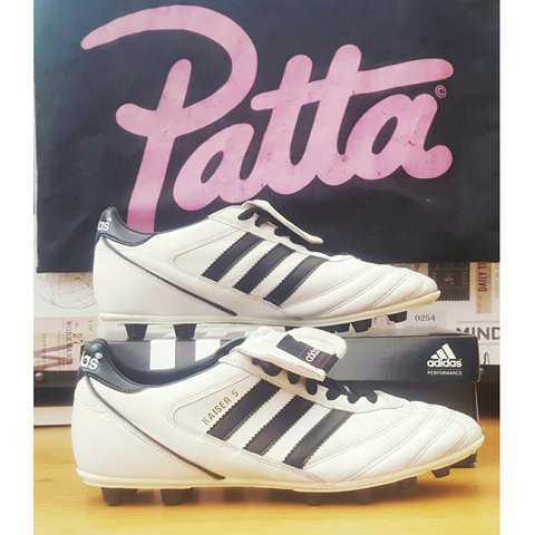 pretty nice 3e50e cfa9f  joe taylor94. 2 years ago. Oldbury, United Kingdom. ▫Adidas Kaiser 5 World Cup  Football Boots ▫Size 9 ...