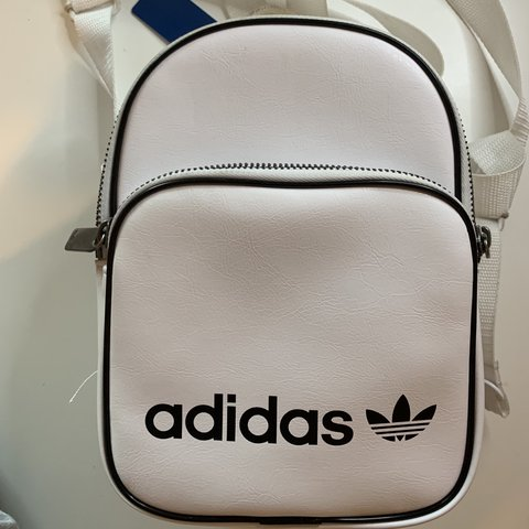 16b0649cc3 Faux leather adidas mini backpack SOLD OUT on asos and - Depop