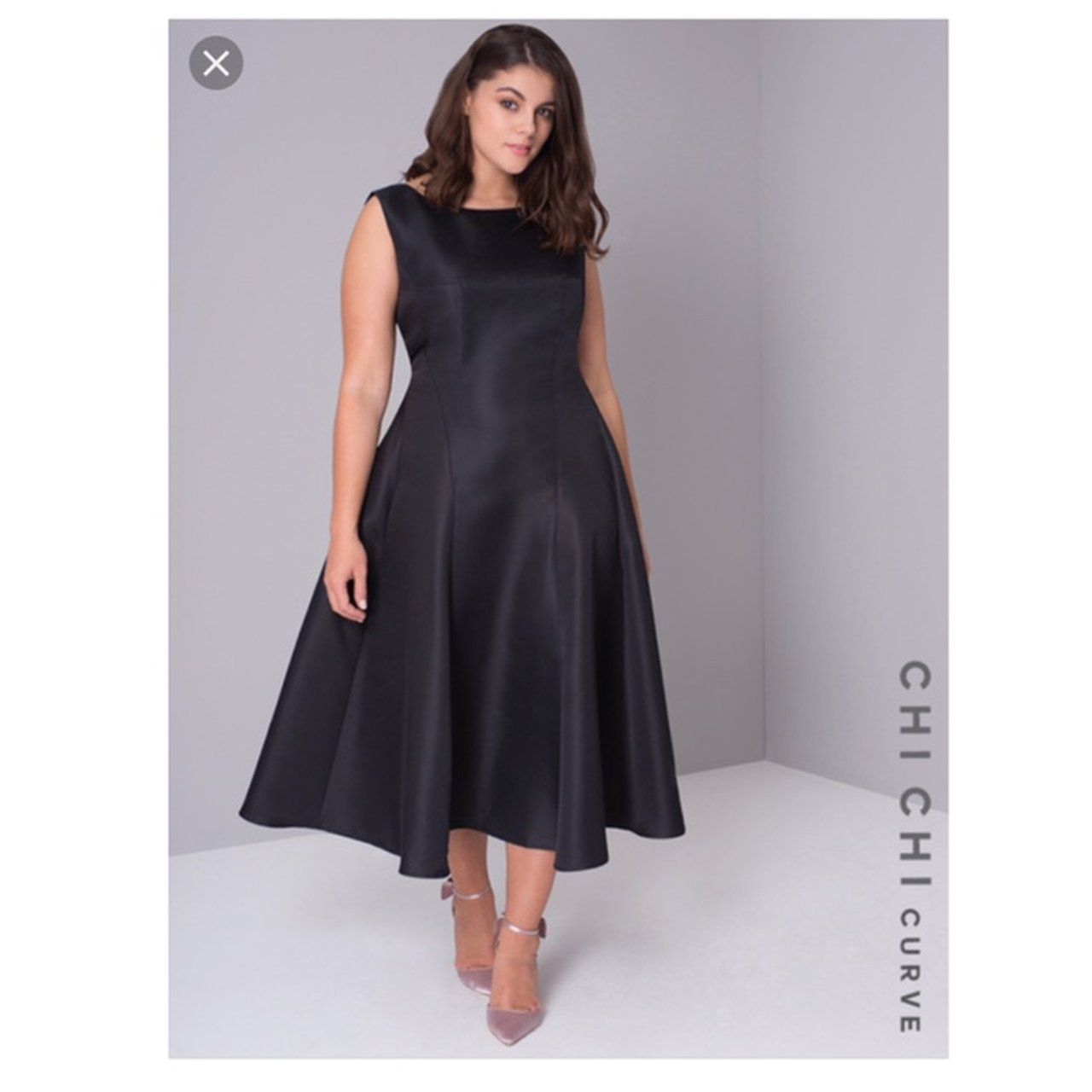 468f917eeaad69 Chi chi curve black dress