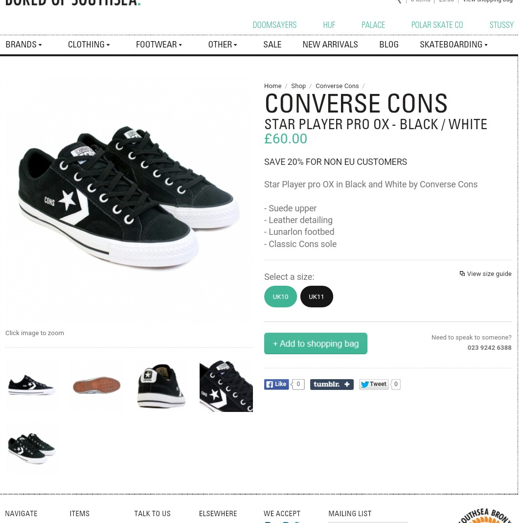 Men's Converse Cons Star Player Pro Ox in Depop