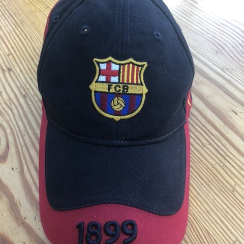 604a4bfc8f5 FC Barcelona Cap Official FCB merchandise Adjustable size - Depop