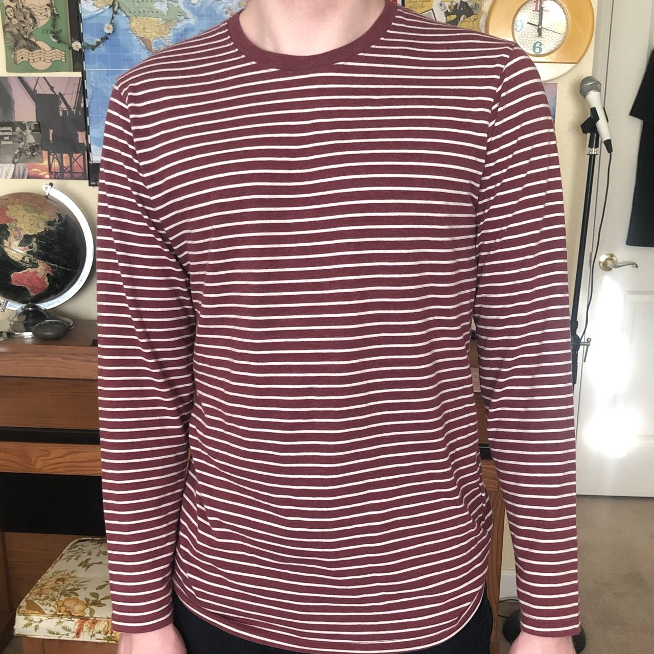 12e8287696 Red And White Striped Shirt Old Navy – EDGE Engineering and ...
