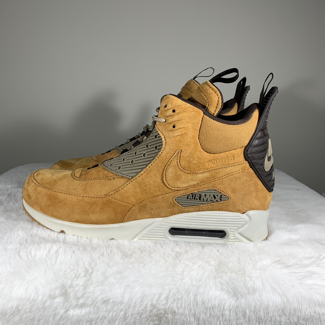 Nike Air Max 90 Sneakerboot Winter Waterproof Wheat 684714