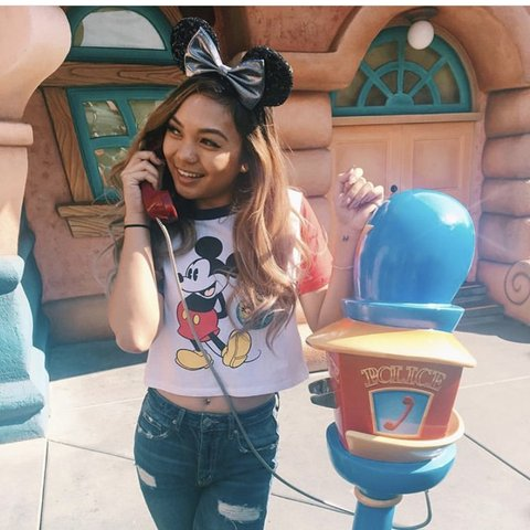 6c851111e18 @jscuhhh. 3 months ago. Irvine, United States. Disney crop top from Forever  21.